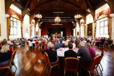 Launceston Town Hall, the opening of Charles Causley's House, July 2014