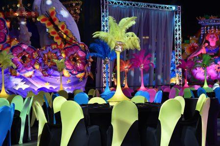 Mardi Gras Table Decor
