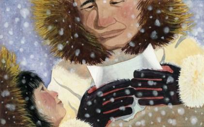 Traveling Message, artwork for Children's Books Post