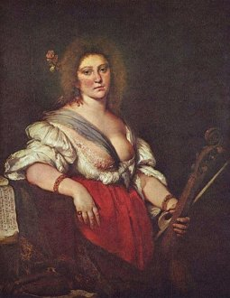Stozzi painting, great Italian female composer