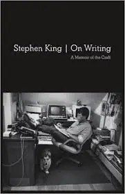 Image of cover of Stephen King's book On Writing, 5 best writing books for artists post
