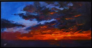 Bergman sky painting for shadow art post