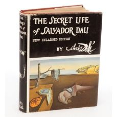 The Secret Life of Salvador Dali book cover