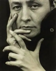 Georgia O'Keeffe portrait by Stieglitz