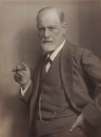Max Halberstadt's photo of Sigmund Freud circa 1921