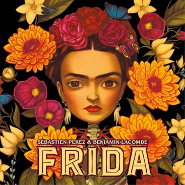 Book on artist Frida Kahlo by Sebastien Perez