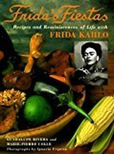 Book cover Frida's Fiestas. My favorite beach read for artists to bring on vacation.