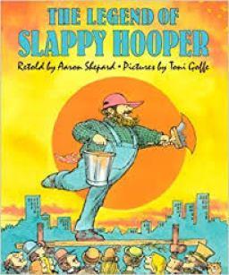 Children's book author Aaron Shepard's book The Legend of Slappy Hooper
