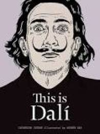 """Book cover of """"This is Dali"""", wonderful beach read for artists into surrealism"""