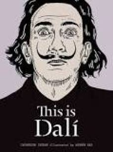"Book cover of ""This is Dali"", wonderful beach read for artists into surrealism"