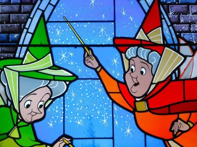 Fairy godmothers from Disney's animated film Cinderella