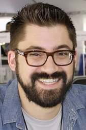 New York Times bestselling author and artist Austin Kleon in 2015 at the Texas Book Festival.