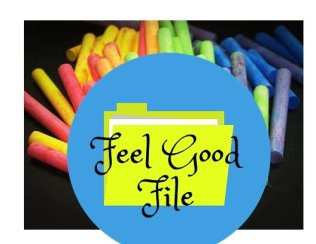 illustration of a feel good file