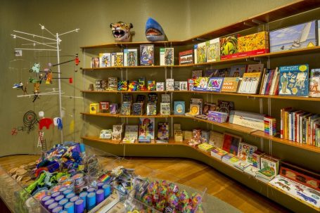 Crystal Bridges Museum Store, Bentonville, Ak. Photo by Dero Sanford. Used by permission of the museum.