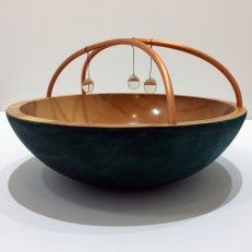 wooden craft bowl for Museum Store post