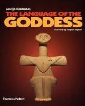 cover of The Language of the Goddess, a book on prehistoric goddess art