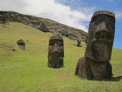 Photo of Statues on Easter Island