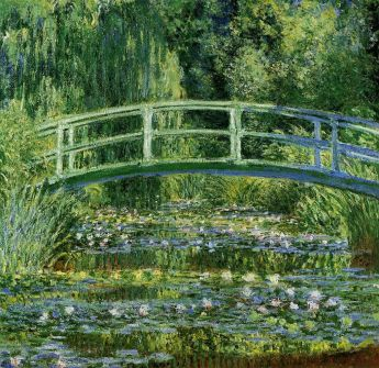 What music was wafting through the air when Monet's Water Lillies pictured here was being painted? The music of Impressionism, Ravel and Debussy.