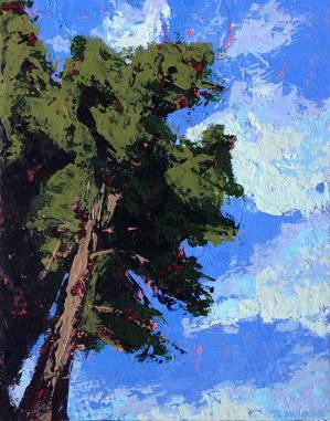 tree painting for email Signup form post