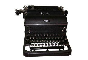 Ray Bradbury's original Royal typewriter