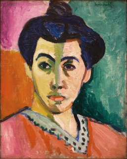 Madame Matisse painting for critique post