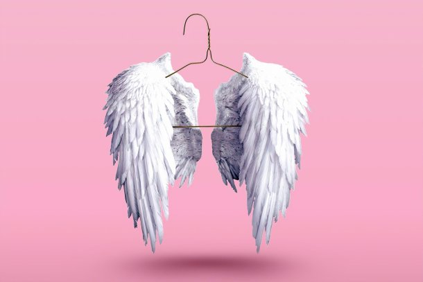 angel wings for email signature post for the charmed studio blog
