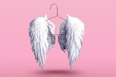 angel wings, angel helpers for email signature post