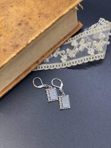 Once Upon a Time Earrings from CurioBookNooks
