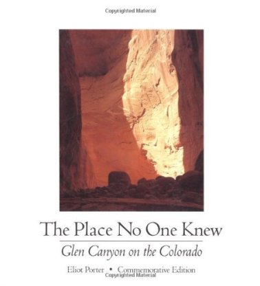 Glen Canyon book cover by Eliot Porter for stone article