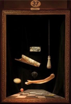 vitrine from Orhan Pamuk's Museum of Innocence