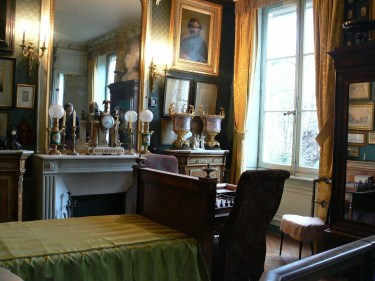 Gustave Moreau's apartment in his home museum.