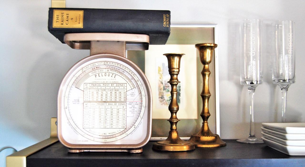 Ikea Shelf Hack: Turning Ordinary into Gold Extraordinary! | The Charming Detroiter