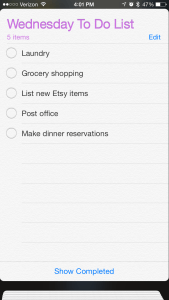 My Top Five Productivity App Recommendations for iPhone | The Charming Detroiter