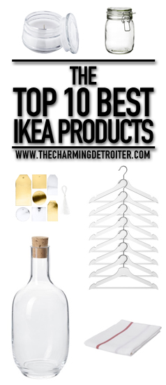 The Top 10 Best Ikea Products: Check out my reviews of my top 10 best ikea products based on value and quality.