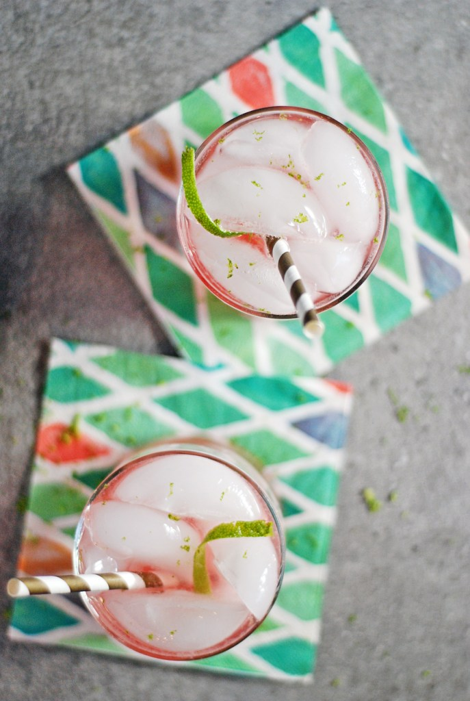 A tasty simple gin cocktail gets kicked up a notch with grenadine, lime, and bubbly club soda.