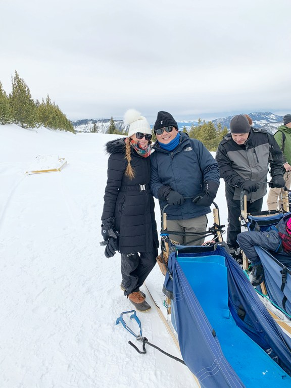 Come along with me on our Big Sky dog sledding trip, where we spent half a day bouncing around the mountains with the cutest huskies you've ever seen!