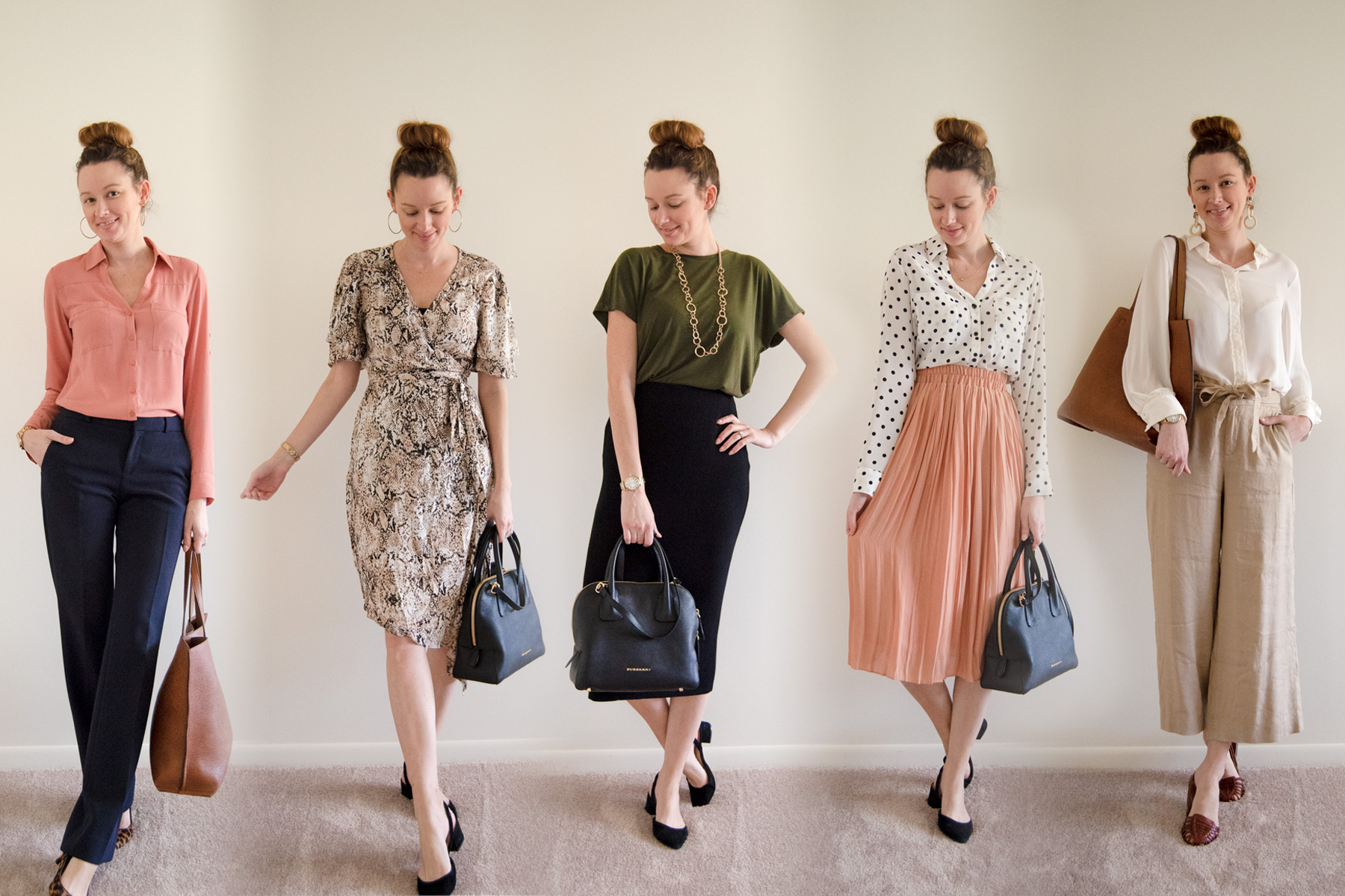 One Week Of Business Casual Work Outfits The Charming Detroiter