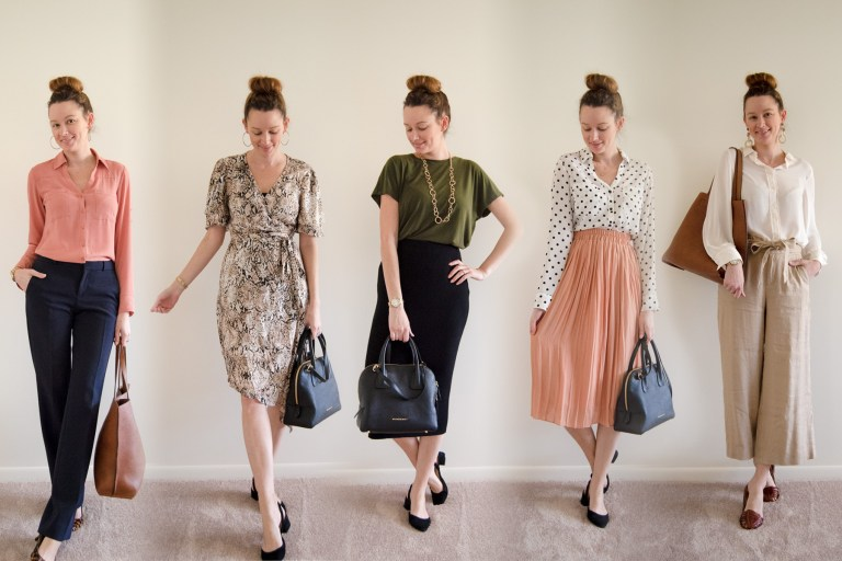 543535d157d5 In need of some wardrobe inspiration? I'm sharing a weeks worth of business