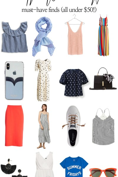 Today kicks off a new series on the blog: Fifty Dollar Fridays! I'm scouring the web for all the latest amazing wardrobe finds - all under $50!