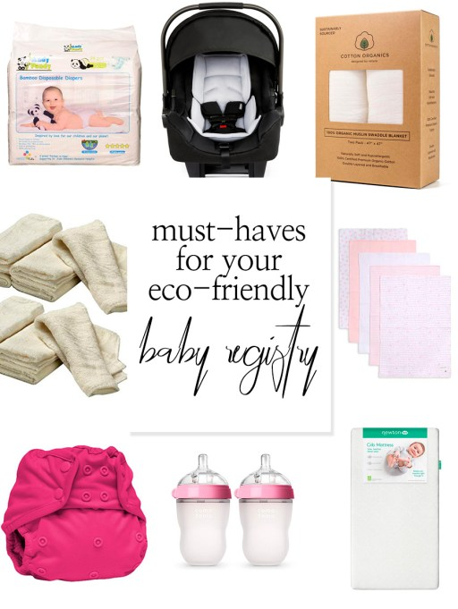 There are endless items you can add to your baby registry, and endless questions about what is the right choice! Today I'm sharing what my eco-friendly favorites are on our registry!