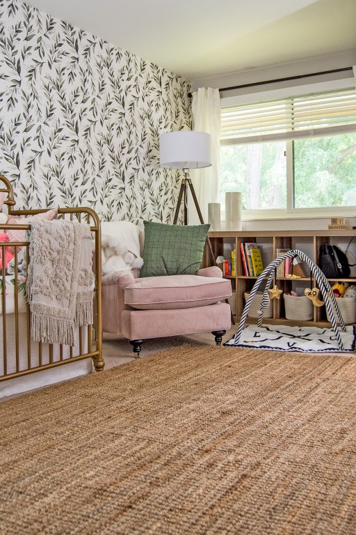 Finally, here it is: the reveal of our modern farmhouse nursery! We're taking you on a before and after tour and you can shop all the products we used here too!