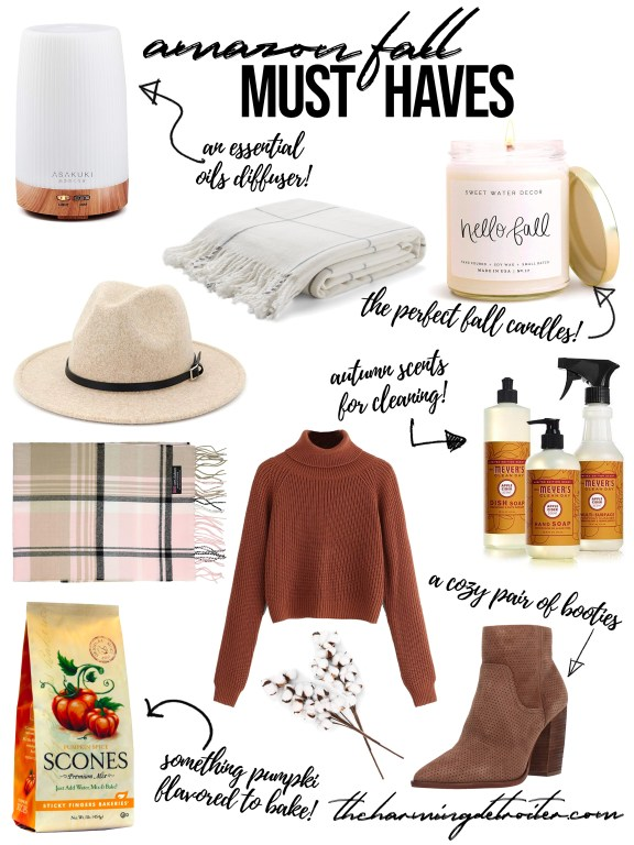 My favorite time of the year as finally arrived, and I'm sharing all my Amazon must haves for enjoying this cozy season!