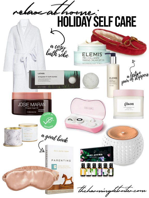 This year more than ever, taking care of yourself is so important! Today I'm sharing my favorite items for relaxing at home this season for holiday self-care!