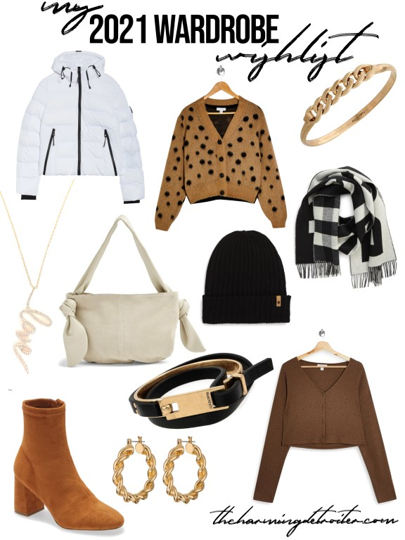We are right in the middle of this lovely snowy season and I'm sharing my 2021 winter wardrobe wishlist today on the blog: all of my must-haves for surviving the season in style!