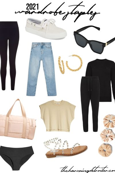 It's 2021, and I'm sharing my favorite 2021 wardrobe staples! All my favorite tried-and-true items are here, with some other fantastic must-haves too!