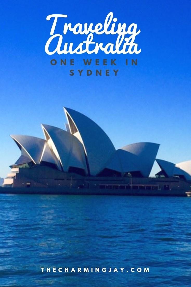 Traveling Sydney Australia