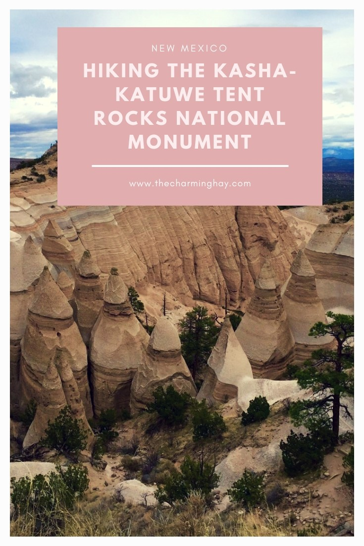 Hiking the Kasha-Katuwe Tent Rocks National Monument in New Mexico