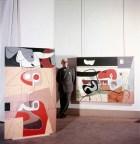 Musée national d'art moderne, Paris, Exposition, 1953, Peintures - Taureau 1 bis (1952), Arbalète Londres II (1953)