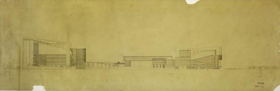 Le Corbusier's Palace of the Soviets (1931)