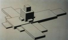 Илья Чашник «Архитектурный проект» 1926-1927